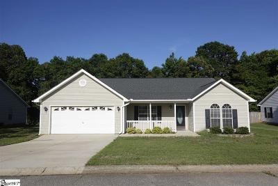 Mauldin Single Family Home For Sale: 308 Hill