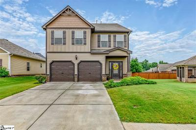 Simpsonville Single Family Home For Sale: 4 Dandie