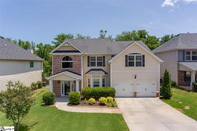 Simpsonville Single Family Home For Sale: 266 Oak Branch