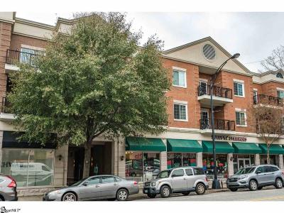 Greenville Condo/Townhouse For Sale: 10 E Washington #Unit 3G