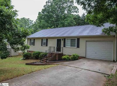 Greenville Single Family Home For Sale: 11 Parkstone