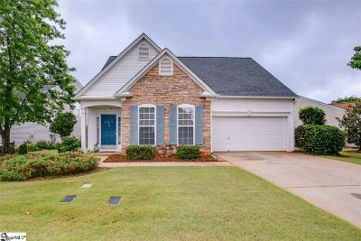 Greer Single Family Home For Sale: 805 Medora