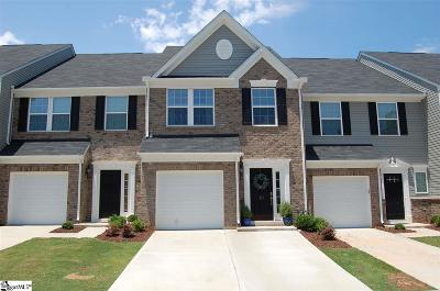 Greenville County Condo/Townhouse For Sale: 113 Emerywood