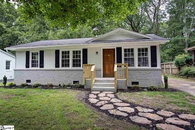 Greenville Single Family Home For Sale: 101 Vintage
