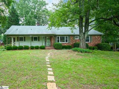 Greenville Single Family Home For Sale: 201 Sweetbriar