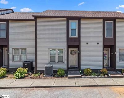 Greenville County Condo/Townhouse For Sale: 3210 Bethel #Unit 56