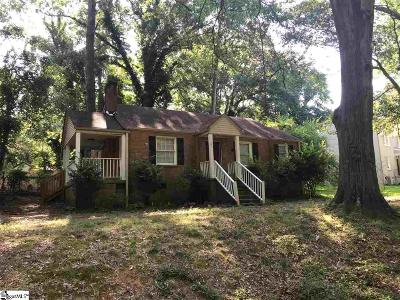 Spartanburg Single Family Home For Sale: 131 Rosemary