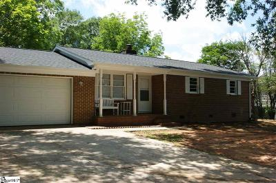 Greenville Single Family Home Contingency Contract: 121 Swinton