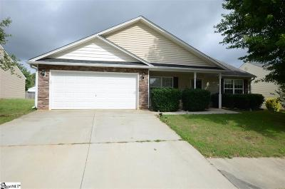 Simpsonville Single Family Home For Sale: 104 Parkgate