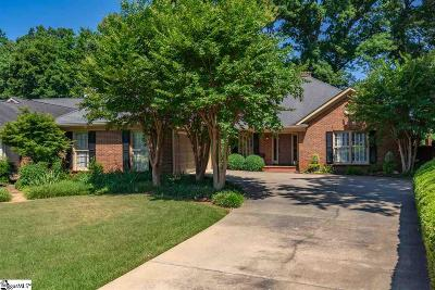 Greenville County Single Family Home For Sale: 108 Hidden Hills
