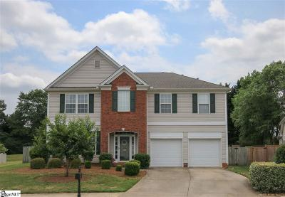 Greenville Single Family Home For Sale: 319 Surrywood