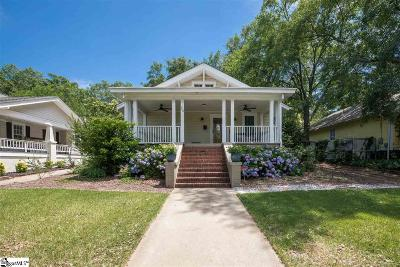 Greenville Single Family Home For Sale: 24 Tindal