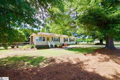 Greer Single Family Home For Sale: 220 Joe Leonard
