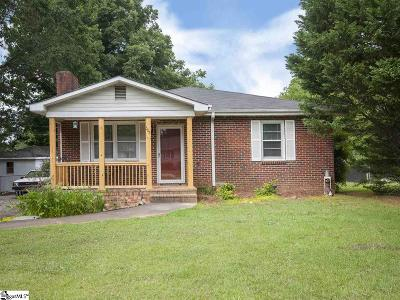 Greenville Single Family Home Contingency Contract: 302 Rangeview