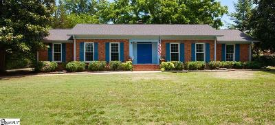 Greenville Single Family Home For Sale: 315 Griffin