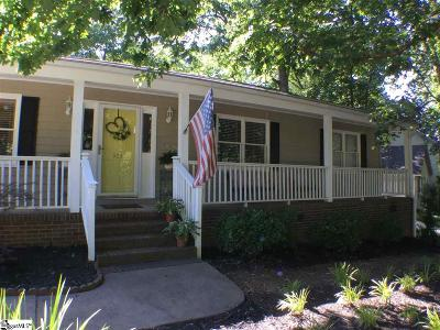 Simpsonville Single Family Home For Sale: 303 Hunters Hill