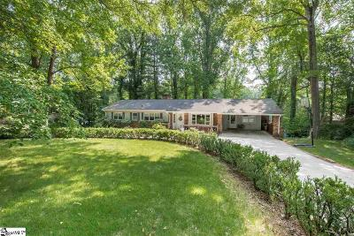 Greenville Single Family Home Contingency Contract: 7 Hermitage