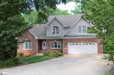 Greer Single Family Home For Sale: 106 Grey Stone