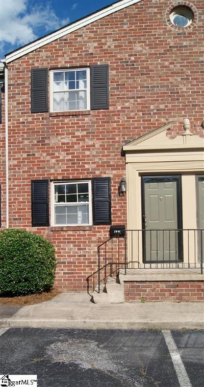 Greenville County Condo/Townhouse For Sale: 2530 E North #14k