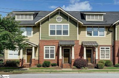 Greenville Condo/Townhouse For Sale: 106 Mallard