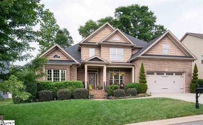 Simpsonville Single Family Home For Sale: 128 Palm Springs