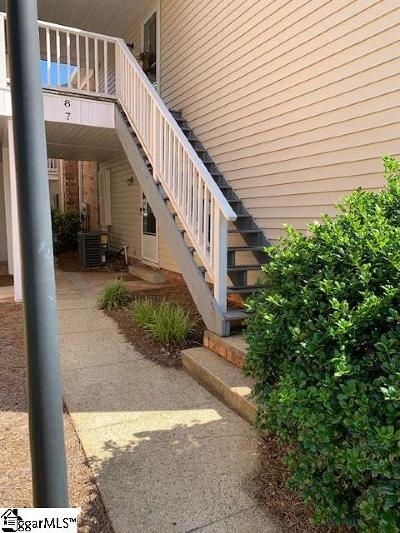 Greenville Condo/Townhouse For Sale: 925 Cleveland #7