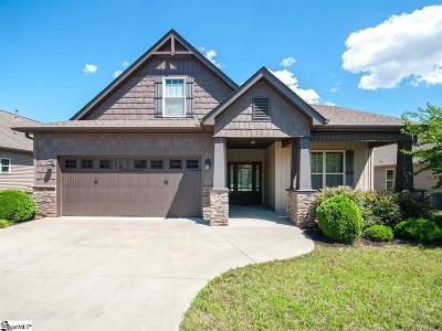 Greenville Single Family Home For Sale: 9 Canyon