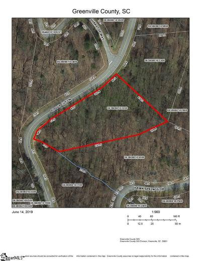 Greenville County Residential Lots & Land For Sale: Foggy Cut