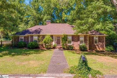 Greenville Single Family Home For Sale: 201 Winsford