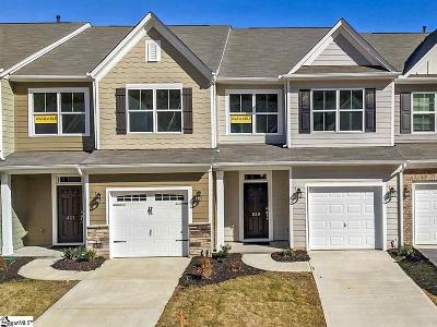 Greenville County Condo/Townhouse For Sale: 839 Appleby #lot 101