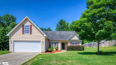 Easley Single Family Home For Sale: 152 Rounded Wind