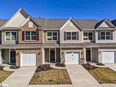 Greenville County Condo/Townhouse For Sale: 837 Appleby #lot102