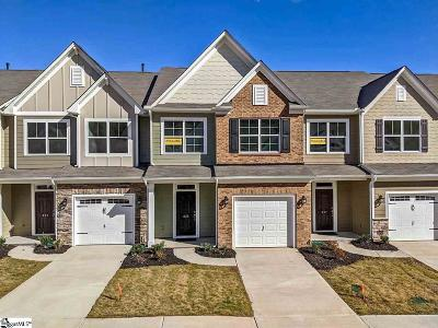 Greenville County Condo/Townhouse For Sale: 835 Appleby #lot 103