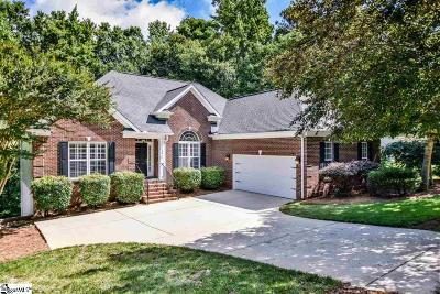 Simpsonville Single Family Home For Sale: 204 Carrick