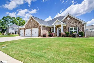 Woodruff Single Family Home For Sale: 542 W Holloway