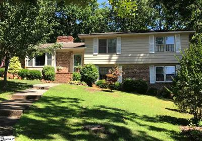 Greenville Single Family Home For Sale: 25 Zelma