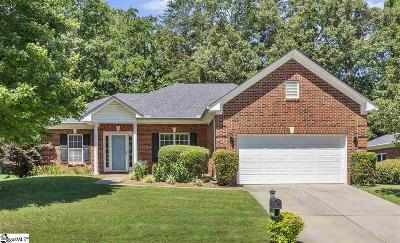 Simpsonville Single Family Home Contingency Contract: 125 Arabian