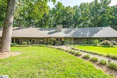 Greer SC Single Family Home For Sale: $1,725,000