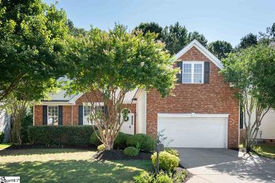 Simpsonville Single Family Home For Sale: 15 Shadowrock