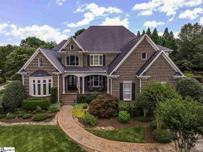 Simpsonville Single Family Home Contingency Contract: 9 Summerhall Glen