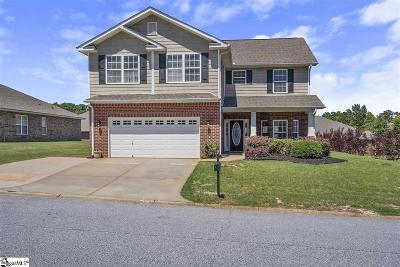 Simpsonville Single Family Home For Sale: 104 Eagle Creek