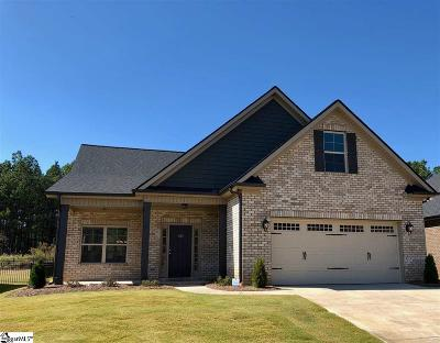 Easley Single Family Home For Sale: 105 Pleasant Hill