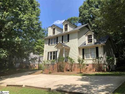 Taylors Single Family Home For Sale: 12 Sunset