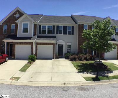 Mauldin Condo/Townhouse For Sale: 465 Woodbark