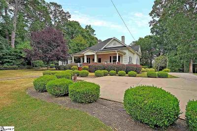Easley Single Family Home For Sale: 404 E 1st