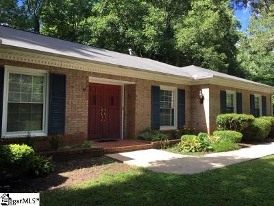 Greenville Single Family Home For Sale: 514 Westcliffe