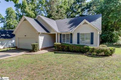 Simpsonville Single Family Home For Sale: 315 Dalewood