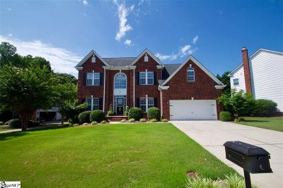Simpsonville Single Family Home For Sale: 6 Big Oak