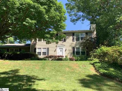 Greenville Single Family Home For Sale: 210 Crestwood