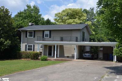 Greenville Single Family Home For Sale: 5 Dagenham